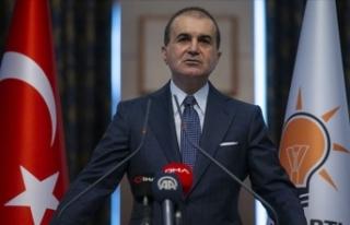 AK Parti Sözcüsü Çelik: Doğu Akdeniz'de...