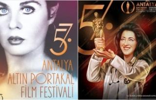 Altın Portakal Film Festivali afişlerinde Fatma...