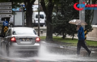 Ankara için kuvvetli sağanak ve fırtına uyarısı