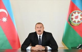 Azerbaycan Cumhurbaşkanı Aliyev: Dağlık Karabağ...
