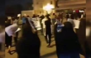 Bahreyn halkından normalleşmeyi reddeden protesto