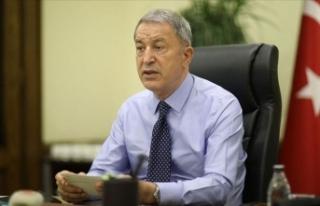 Bakan Akar: Fransa, Doğu Akdeniz yetmiyor, Irak'ta...