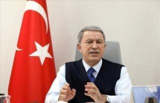 Bakan Akar: Azerbaycan'ın haklı davasına çözüm...
