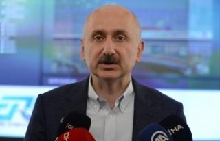 Karaismailoğlu: Başakşehir-Kayaşehir Metro Hattını...
