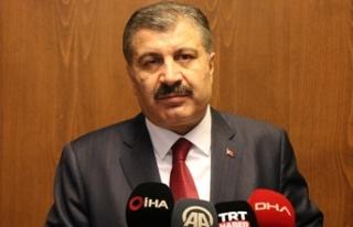 Sağlık Bakanı Koca: Depremde hayatını kaybedenlerin...