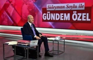 """Bakan Süleyman Soylu: """"Türkiye bütün dünyaya..."""