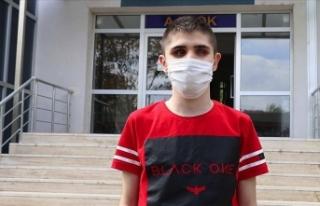 Barış Manço hayranı görme engelli Ümit'in...
