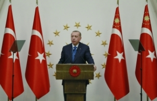 Cumhurbaşkanı Erdoğan, AB Konseyi Başkanı Michel...