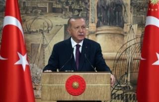 Cumhurbaşkanı Erdoğan, Ankara Büyükşehir Belediye...