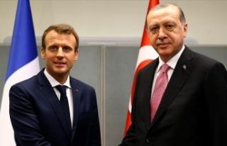 Cumhurbaşkanı Erdoğan Fransa Cumhurbaşkanı Macron...
