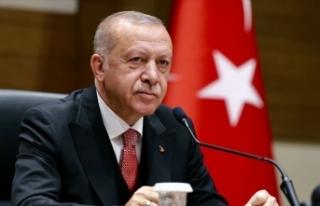 Cumhurbaşkanı Erdoğan: Türkçemize sahip çıkmayı...