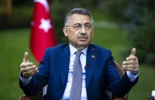 Cumhurbaşkanı Yardımcısı Oktay: Doğu Akdeniz'de...