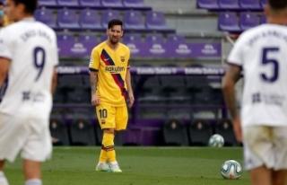 En fazla kazanan futbolcu Lionel Messi