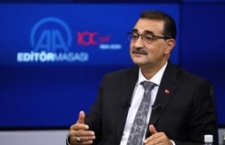 Enerji ve Tabii Kaynaklar Bakanı Dönmez: Karadeniz...