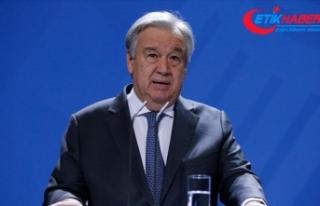 Guterres'ten dünya liderlerine 'küresel...
