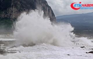 Haişen tayfunu Güney Kore'yi etkisi altına...