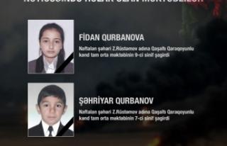İşgalci Ermenistan saldırısında şehit olan siviller...