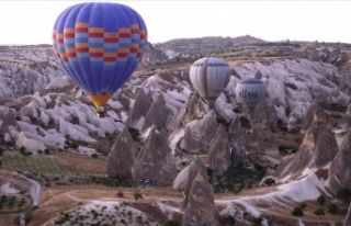 Kapadokya'yı 'yeni normal'de 255 bin...