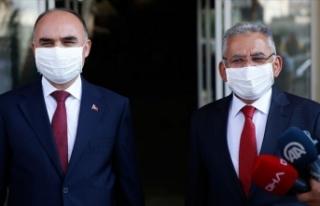Kayseri'de Kovid-19 vaka sayısı artışını...