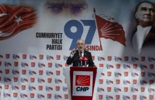 Kılıçdaroğlu: 97 yıl önce resmen kurulan Cumhuriyet...