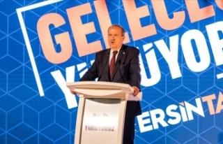 KKTC'de cumhurbaşkanı adayı Ersin Tatar vizyonunu...