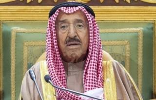 Kuveyt Emiri'nin vefatı dolayısıyla Irak ve...
