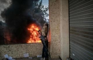 Libya'da Hafter milisleri ateşkesi yine ihlal...