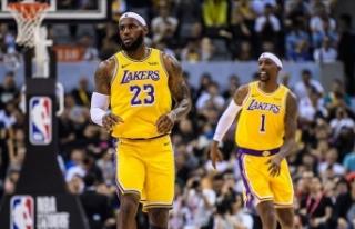 NBA'de Los Angeles Lakers kazanmaya devam ediyor