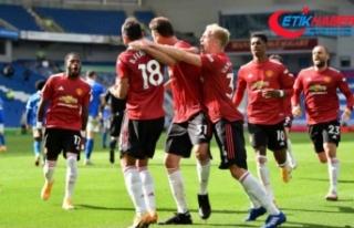 Manchester United'dan tarihe geçen galibiyet!...