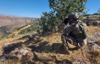 Mardin'de 'Yıldırım-8 Savur Operasyonu'...