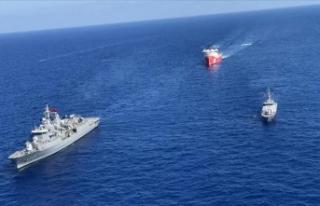 MSB: Denizlerde araştırma yapan gemilere koruma...