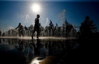 Orta Anadolu'da hava sıcaklıklarının mevsim...
