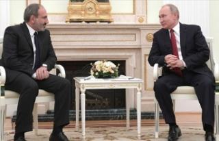 Putin ile Paşinyan Dağlık Karabağ'daki durumu...