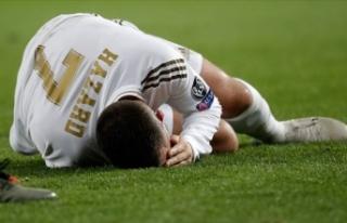 Real Madrid'de Eden Hazard sakatlandı