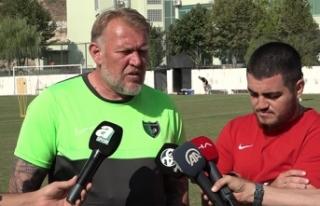 Robert Prosinecki: 'Güzel bir maç olacağını...