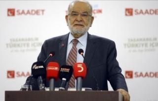 Saadet Partisi Genel Başkanı Karamollaoğlu: Acil...
