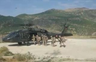 Siirt'te 1003 personelin katılımıyla Yıldırım-11...