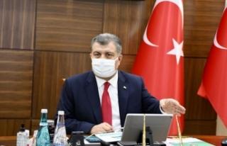 Türkiye'de son 24 saatte 1509 kişiye Kovid-19...
