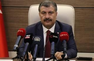Türkiye'de son 24 saatte 1412 kişiye Kovid-19...