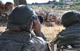 Fırat Kalkanı bölgesinde 3 terörist etkisiz hale...