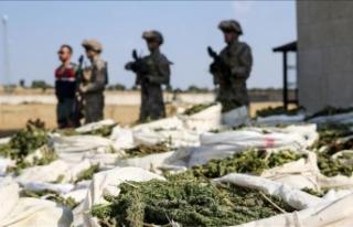 Terörün finansı uyuşturucuya Diyarbakır'da...