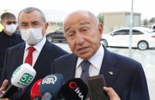 """TFF Başkanı Nihat Özdemir: """"Maçtan puanla..."""