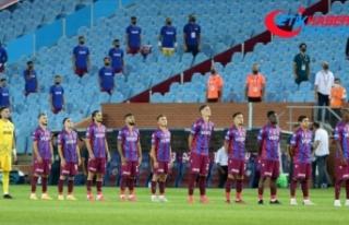 Trabzonspor salgın sürecinde sahasında galibiyeti...
