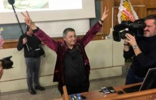 TTB'nin yeni başkanı PKK sevici Şebnem Korur...