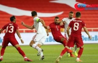 Türkiye UEFA Uluslar Ligi mücadelesinde Macaristan'a...
