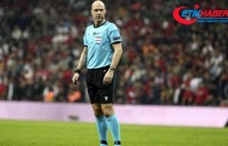 UEFA Süper Kupa maçını İngiliz hakem Anthony...