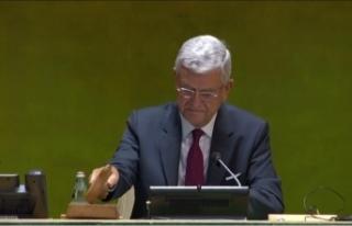 Volkan Bozkır, BM Genel Kurulu Başkanlığı görevini...