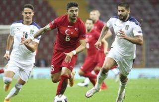 A Milli Takım UEFA Uluslar Ligi'nde dördüncü...