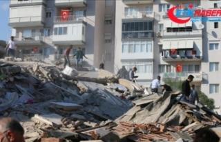 """AFAD'dan İzmir'deki deprem sonrası """"hasarlı..."""