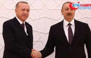 Aliyev, Erdoğan'ı arayarak 29 Ekim Cumhuriyet...